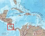 géographie du costa rica